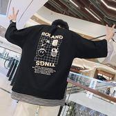 短袖T恤男 韓版休閒 流行上衣 印花T恤短袖寬鬆T恤字母韓版圓領休閒打底衫男wx3934