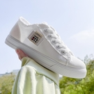 小白鞋2021新款女鞋夏季薄款百搭春秋帆布鞋韩版透气低帮平底板鞋
