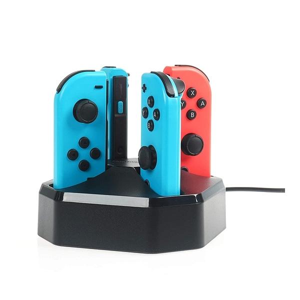 [2美國直購] Amazon Basics 充電座 最多4個 2.6尺電線 適用Nintendo Switch Joy-con 控制器