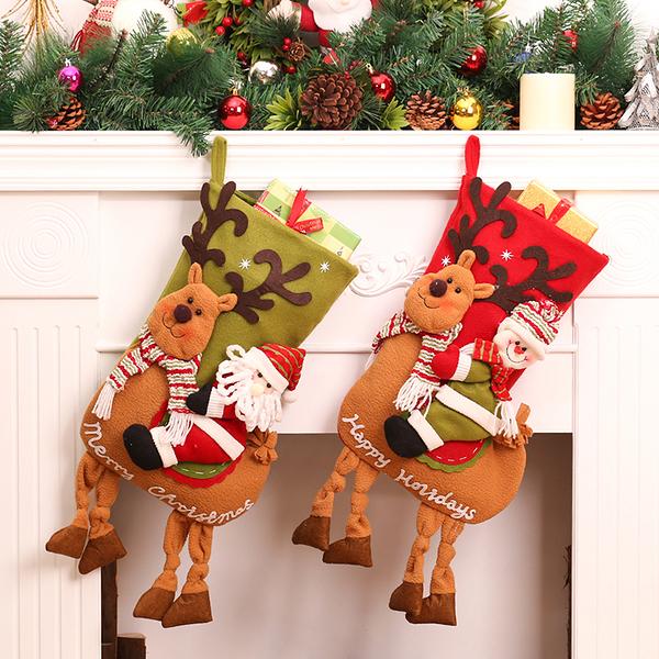 聖誕禮品9  聖誕樹裝飾品 禮品派對 裝飾 聖誕襪 禮物袋