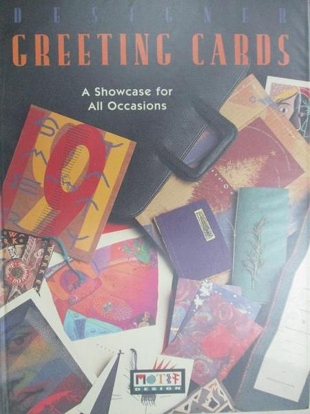 【書寶二手書T9/設計_D6Z】Designer Greeting Cards