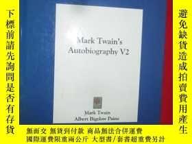 二手書博民逛書店Mark罕見Twain s Autobiography V2 (