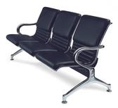 【IS 空間美學】820AL 黑皮排椅2 人座三款尺寸可選