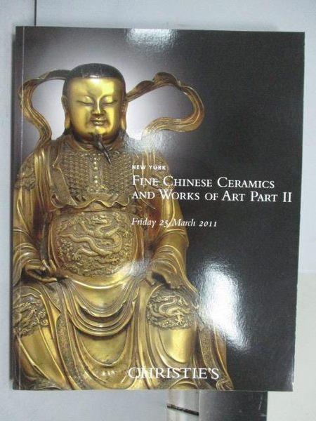 【書寶二手書T6/收藏_PNI】Christie s_Fine Chinese Ceramics…Part II_201