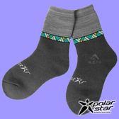 【PolarStar】兒童 保暖雪襪『暗灰』P18613 戶外.登山.保暖襪.彈性襪.休閒襪.長筒襪.襪子.男版.女版