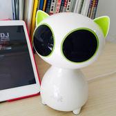 黑五好物節 酷貓迷你小音響臺式電腦USB音箱卡通可愛便攜 單個手機低音炮