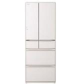 【HITACHI 日立 日本原裝】561公升變頻六門電冰箱 RXG570JJ-XW 琉璃白 比漾廣場