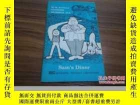 二手書博民逛書店《Sam s罕見Diner》插圖本 DWY205811