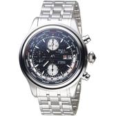 BALL波爾Trainmaster世界時間GMT計時機械錶  CM2052D-SJ-BK 黑