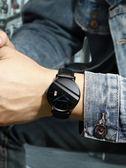 手錶男防水超薄新款蟲洞概念機械錶學生韓版簡約潮流休閒男士男錶