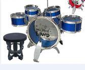 兒童玩具爵士鼓架子鼓玩具爵士鼓組合加凳子兒童套裝五個鼓加腳踩tz7831【棉花糖伊人】