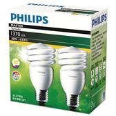 Philips 飛利浦 Master T2 燈泡20W黃光(2入/組)【愛買】
