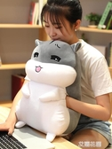 老倉鼠玩偶娃娃公仔毛絨玩具女孩生睡覺床上捂暖手抱枕鼠年吉祥物『艾麗花園』