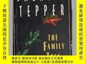 二手書博民逛書店英文原版罕見The Family Tree by Sheri S