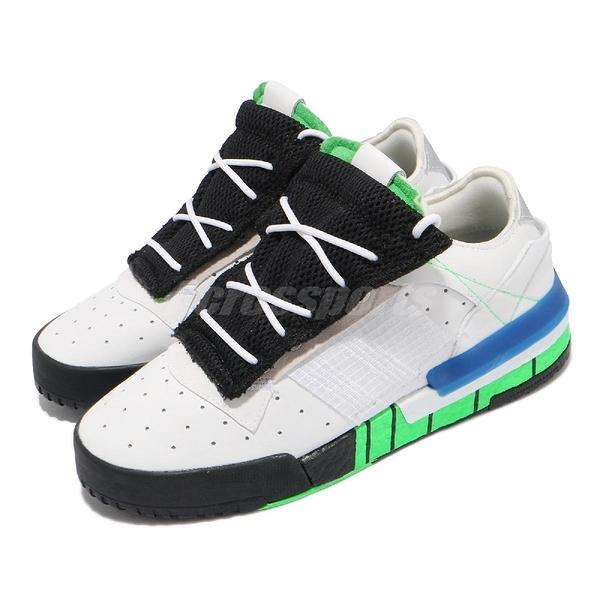 【海外限定】adidas 休閒鞋 Rivalry RM Low 白 黑 綠 三葉草 愛迪達 男鞋 復古 【ACS】 FW2275
