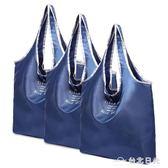 可摺疊購物袋買菜大容量超市環保袋手提袋子便攜尼龍防水  台北日光