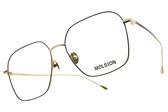 MOLSION 光學眼鏡 MJ7022 B60 (黑-金) 時尚方框款 眼鏡框 #金橘眼鏡