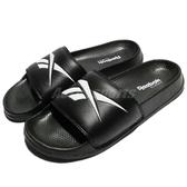 Reebok 拖鞋 Classic Slide 黑 白 基本款 復古 大LOGO 舒適好穿 男鞋 女鞋【PUMP306】 CN0212