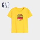 Gap男幼童 Gap x Ken Lo 藝術家聯名系列純棉短袖T恤 854744-黃色