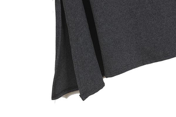 半身裙薄款透氣舒適 韓國包臀顯大裙擺抽繩繫帶側邊開叉百搭半身長裙