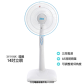 【國騰】14吋伸縮立扇/桌扇/電扇/電風扇/風扇 SY-1410A