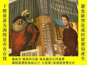 二手書博民逛書店The罕見Genius of Shakespeare天才莎士比亞