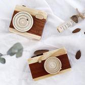 創意手工木質音樂盒八音盒發條式diy相機女生兒童生日禮物小擺設WY 【限時八五折鉅惠】
