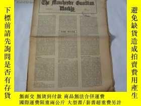 二手書博民逛書店外文原版報紙罕見THE MANCHESTER GUARDIAN WEEKLY 1948年4月29日 第18期 共1
