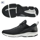 美津濃 MIZUNO 男女慢跑鞋 EZRUN  TO (黑/白) 一般慢跑鞋 黑白鞋 學生鞋 J1GC185509【 胖媛的店 】