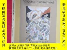 二手書博民逛書店A罕見Framework for Human Resource