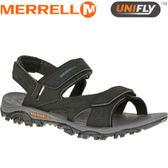 【MERRELL 美國 男款 運動涼鞋 黑色】ML35283/越野鞋/休閒鞋/登山鞋/運動鞋/健行★滿額送