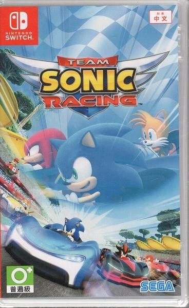 【玩樂小熊】Switch 遊戲 音速小子 搭檔組隊大賽車 Team Sonic Racing 中文版