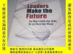 二手書博民逛書店leaders罕見make the future--ten ne