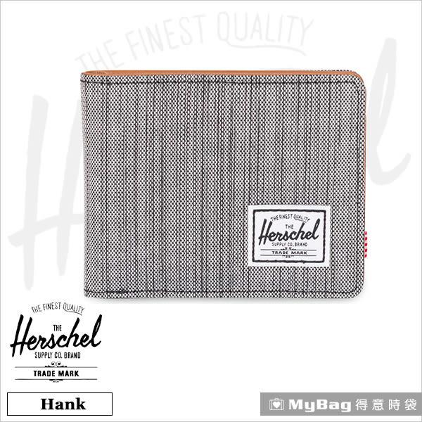 Herschel 皮夾 / 短夾 Hank-1261 多重線條 經典內斂多卡短夾 MyBag得意時袋