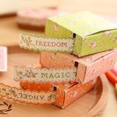 【00075】 復古田園裝飾 波浪紙膠帶 禮物包裝 筆記本裝飾 小清新