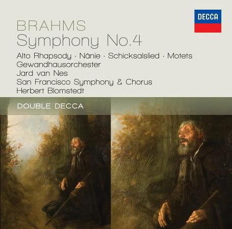 布拉姆斯:第四號交響曲 女低音狂想曲 CD  (購潮8)
