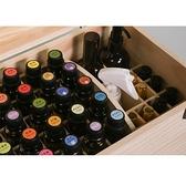 精油盒 全能的精油收納盒子多特瑞手提精油收納木盒56格變74格盒子實木箱 智慧e家 新品