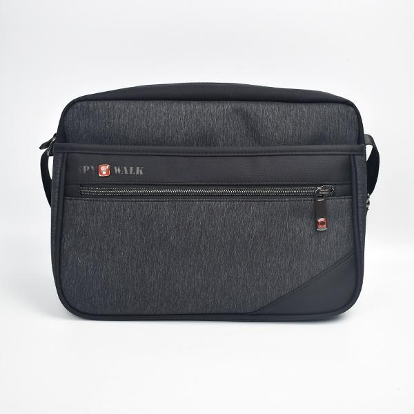側背包 硬挺多層收納休閒包包NZC15