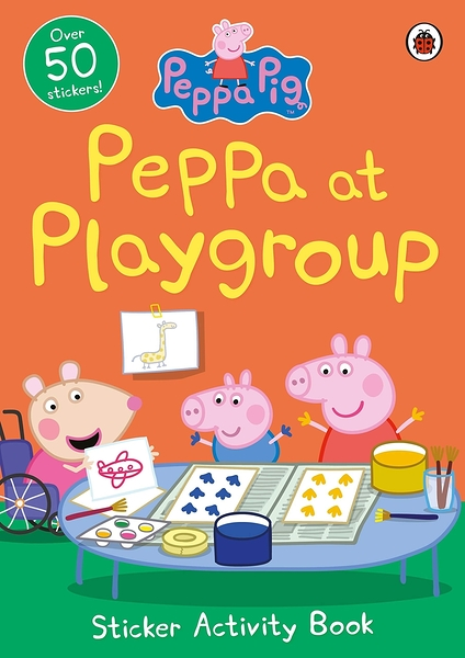 Peppa Pig:Peppa At Playgroup Sticker Activity Book 佩佩豬上學貼紙活動書