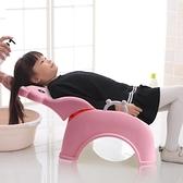 洗頭椅 兒童洗頭髮躺椅可折疊洗頭神器寶寶家用小孩洗頭髮床凳子多功能【幸福小屋】