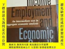 二手書博民逛書店Income罕見employment and economic growth(收入就業與經濟增長)Y23216