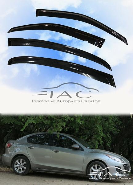 Mazda 3 Sedan 2010-2013 台製晴雨窗 【IAC車業】