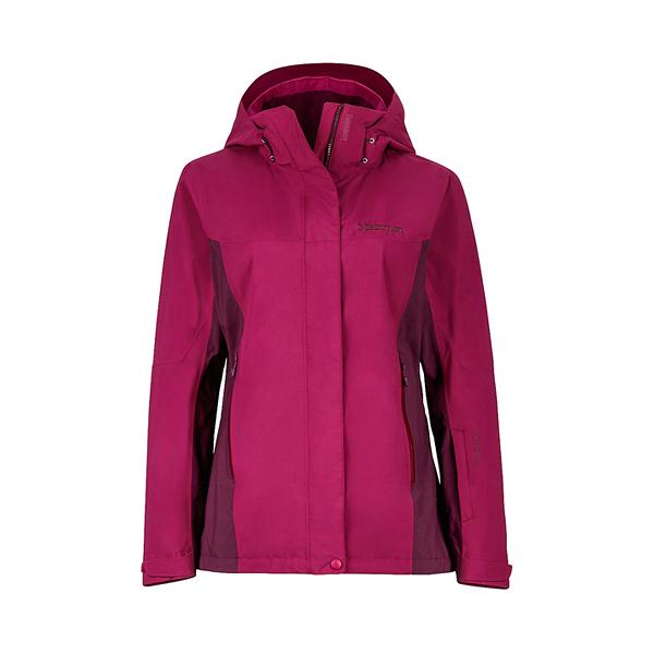 [Marmot] Palisades GTX (女) 防水+羽絨兩件式外套 品紅 (M35470-6846)