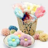 幸福婚禮小物❤可愛小花棒棒糖造型香皂---1組10入❤迎賓禮/二次進場/活動小禮物/送客禮/香皂