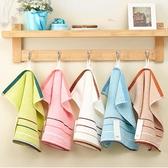 3條裝加厚純棉大方巾成人兒童超柔軟吸水洗臉面巾家用全棉小毛巾 居享優品