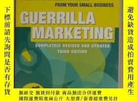 二手書博民逛書店Guerrilla罕見Marketing Secrets for