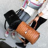 旅行包 新款男女通用大包出差行李包登機包健身包手提單肩包包 df2772 【Sweet家居】