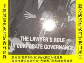 二手書博民逛書店英文原版罕見The Lawyer s Role In Corpo