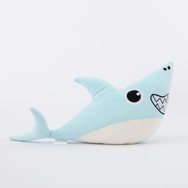 大眼睛鯊魚玩偶-生活工場