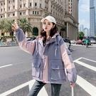 休閒夾克外套加絨 原宿風棉服女生外套 寬鬆工裝女士外套 羽絨外套韓版外套 加厚冬季上衣